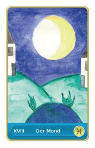 Glueck - der Mond