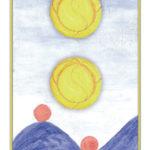 Zwei der Münzen